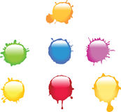 Paint Splat Royalty Free Stock Image