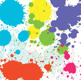 Paint splat background Royalty Free Stock Images