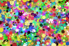 Paint Splat Background Stock Photos