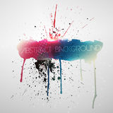 Paint splat grungy background Stock Images