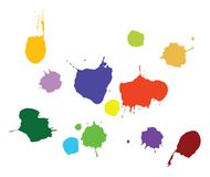 Paint Splat Vector Royalty Free Stock Photos