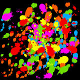 Paint Splats Royalty Free Stock Photography