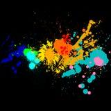 Paint splats Royalty Free Stock Image