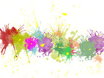 Paint Splats Stock Images