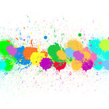 Paint splats stock illustration
