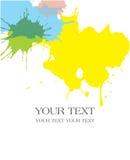 Paint Splats Background. Including Vector Format royalty free illustration