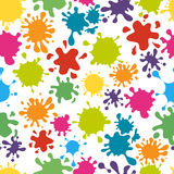 Paint splats pattern vector Stock Photos
