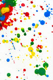 Paint Splatter Stock Image