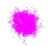 Paint splatter. On a white bg Stock Images