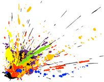 Paint splatter Stock Photos