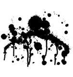 Paint Splatter 4 Royalty Free Stock Images