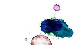 Paint splatter on transparent background. Alpha channel vector illustration