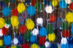 Paint-splattered background Royalty Free Stock Images