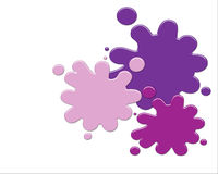 Paint Splatters Royalty Free Stock Image