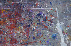 Paint Splatters Background Stock Image
