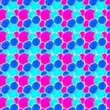 Paint Spots Water Seamless Pattern. Paint spots blue and pink, water blue background. Background seamless pattern texture Stock Image