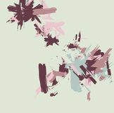 Paint Stokes Stock Images