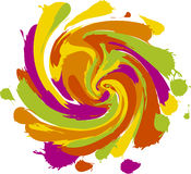 Paint storm Royalty Free Stock Images