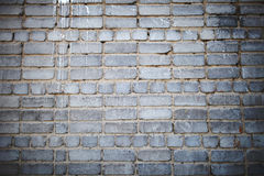 Paint streaks on the brick wall Royalty Free Stock Images