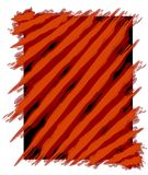 Paint Stripes Background Red Stock Photo