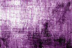 Paint strockes on metal in purple tone. Abstract background and pattern Stock Photography