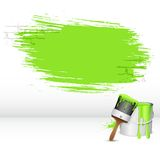Paint Stroke Stock Photo