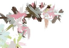 Paint Strokes Royalty Free Stock Images