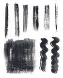 Paint strokes vector Royalty Free Stock Photos
