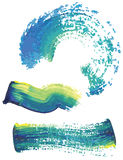 Paint strokes Stock Images