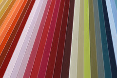 Paint swatch Royalty Free Stock Images