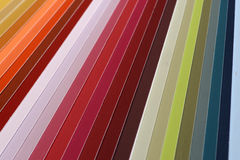 Paint swatch Royalty Free Stock Image