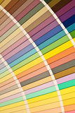 Paint swatch samples Royalty Free Stock Images