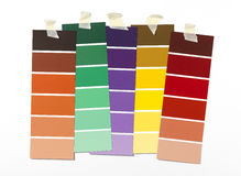 Paint Swatch Royalty Free Stock Photo