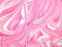 Paint Swirls. It is some pink paint I was mixing for my art class Stock Images