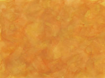 Paint texture. Orange and ochre paint texture Royalty Free Stock Images