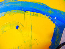 Paint Texture Abstract Shapes Stock Images