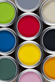 Paint Tins - Color Stock Photography