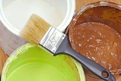 Paint tools Royalty Free Stock Photos