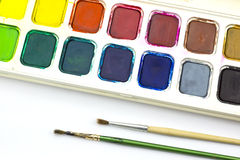Paint tray Royalty Free Stock Image