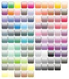 Paint tray colorful paints colors Stock Photography