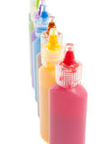 Paint tubes Royalty Free Stock Images