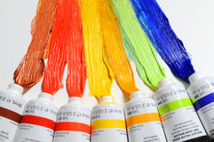 Paint Tubes Royalty Free Stock Photo