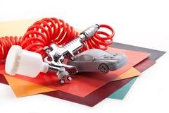 Paint vehicles Stock Images