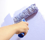 Paint the wall Stock Image