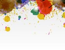 Paint wallpaper Stock Images