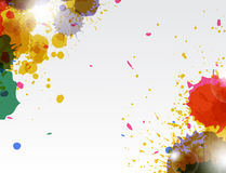 Paint wallpaper Royalty Free Stock Photo
