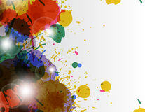 Paint wallpaper Royalty Free Stock Images