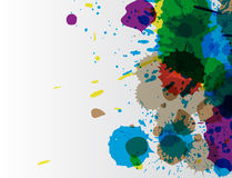 Paint wallpaper Stock Photography