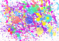 Paint watercolor splatter spray Royalty Free Stock Photo