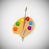 Paint wood application icons vector illustration Stock Image